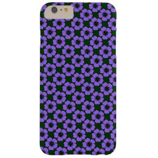 Purple Flowers Design iPhone Case
