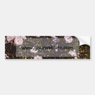 Purple Flowers Floral Photography Bumper Stickers