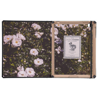 Purple Flowers, Floral Photography iPad Cover