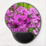 Purple Flowers from San Francisco Gel Mouse Pad