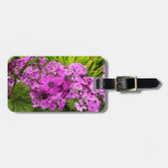 Purple Flowers from San Francisco Luggage Tag