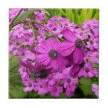 Purple Flowers from San Francisco Tile