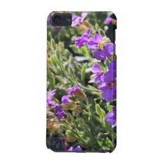 Purple flowers in bloom during Spring iPod Touch (5th Generation) Cases