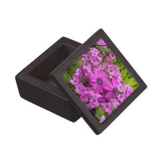 Purple Flowers in San Francisco Premium Jewelry Box