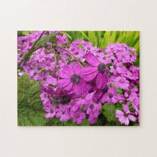 Purple Flowers in San Francisco Jigsaw Puzzles
