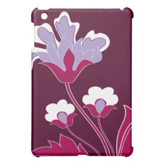 Purple Flowers  iPad Mini Case