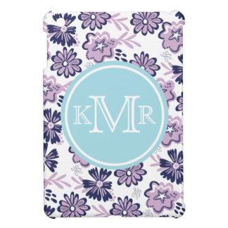 Purple Flowers iPad Mini Cases