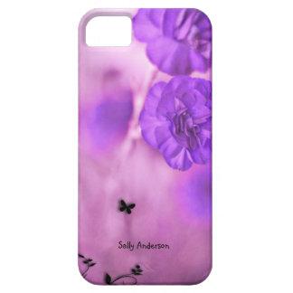 Purple Flowers iPhone SE/5/5s Case