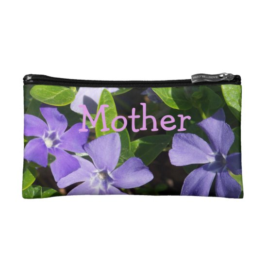 Purple Flowers MOTHER Bag