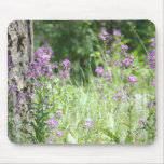 Purple Flowers Mouse Pads