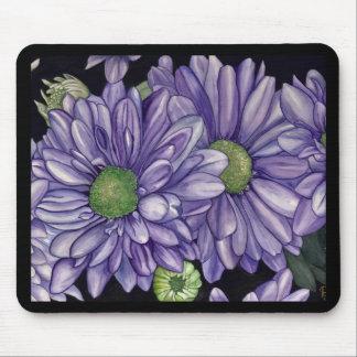 Purple Flowers Mousepads