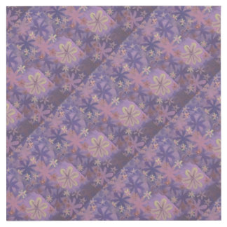 purple flowers outlet cover