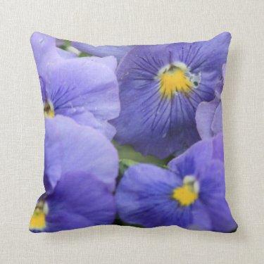 Purple Flowers - pillow