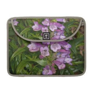 Purple Flowers Sleeve For MacBooks