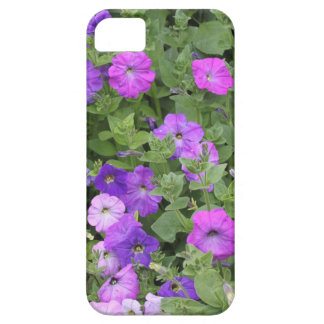 Purple Flowers Spring Garden Theme Petunia Floral iPhone SE/5/5s Case