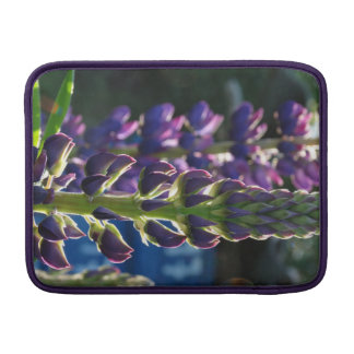 Purple Flowers Spring Photo Macbook Air Case