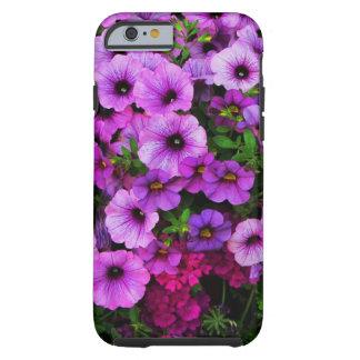 purple flowers tough iPhone 6 case