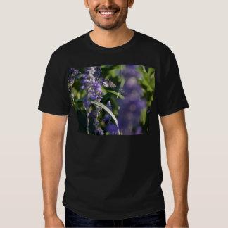 Purple Flowers with Moth Tshirts