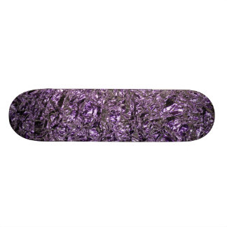 purple foil skateboard