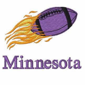 Purple Football with Custom Text