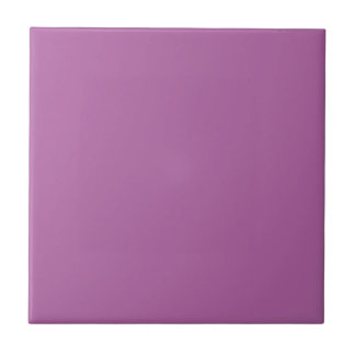 Purple For Always Small Square Tile