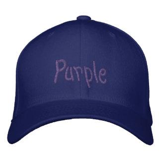 Purple for Chronic Pain Awareness Embroidered Baseball Cap