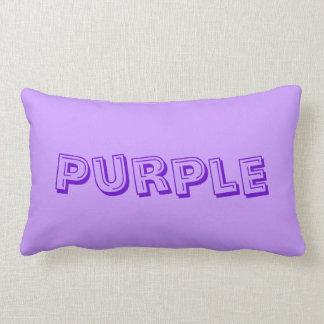 Purple for Chronic Pain Awareness Throw Pillows