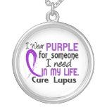 Purple For Someone I Need Lupus Jewelry