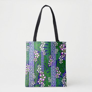 Beach Themed Purple forest tote bag