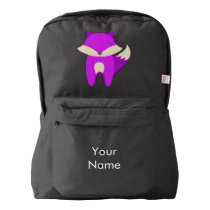 Purple Fox Backpack