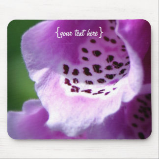 Purple Foxglove Trumpets Mouse Pad