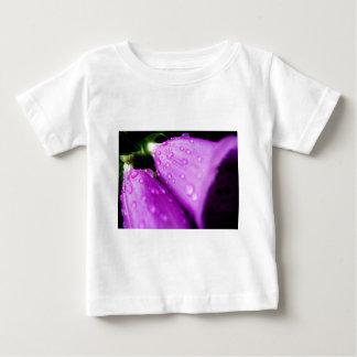 Purple foxglove w/ raindrops baby T-Shirt