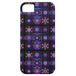 Purple Fractal Collage iPhone 5 Covers