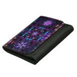 Purple Fractal Collage Women's Wallet