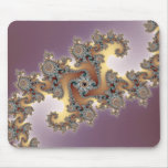 Purple - Fractal Mouse Pad