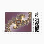 Purple - Fractal Postage