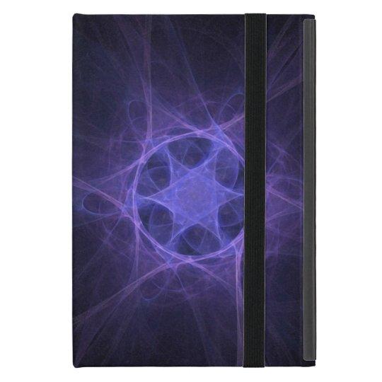 Purple Fractal Star Of David Cover For iPad Mini