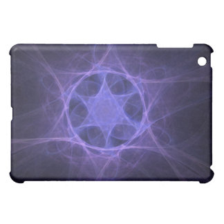 Purple Fractal Star Of David Cover For The iPad Mini