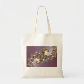 Purple - Fractal Tote Bag