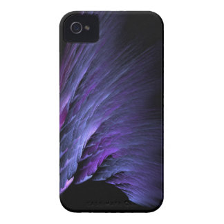Purple fractal wave velvet darkness iPhone case iPhone 4 Case-Mate Cases