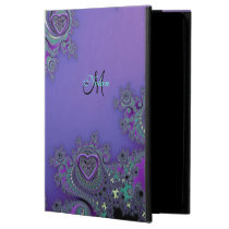 Purple Fractal with Celtic Hearts iPad Air 2 Case Powis iPad Air 2 Case