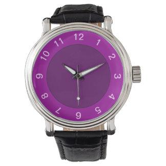 Purple Frame Watch Template
