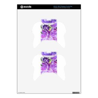 Purple Freesia Xbox 360 Controller Skins