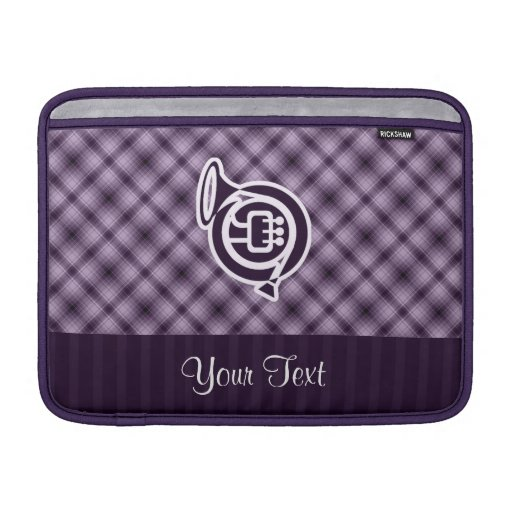 Purple French Horn Sleeve For MacBook Air