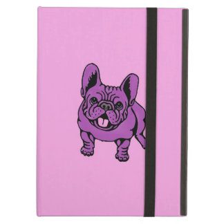 Purple Frenchie iPad Air Cases