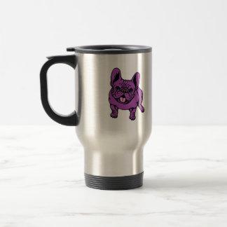 Purple Frenchie Mugs