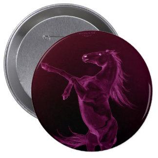 Purple Friesian Rearing Pin Button