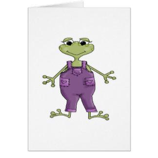 Purple Frog Card