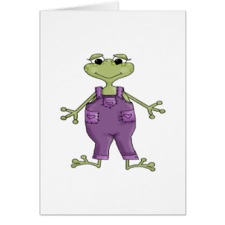 Purple Frog Cards