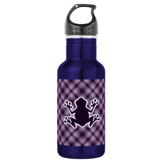 Purple Frog Stainless Steel Water Bottle